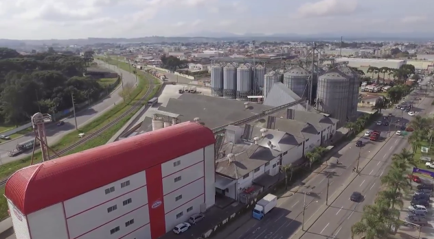 Visão Panorâmica das Instalações do Molino Rosso