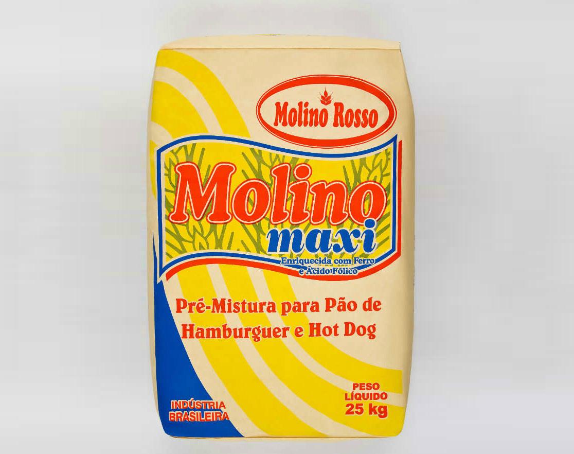 Molino Maxi – Pão Hambúrguer e Hot Dog