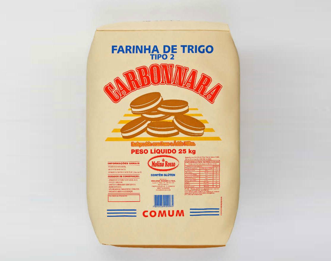 Carbonnara Biscoito