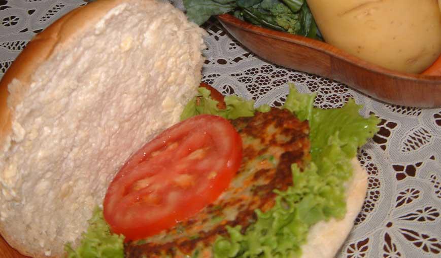 Hambúrguer Vegetariano (V)