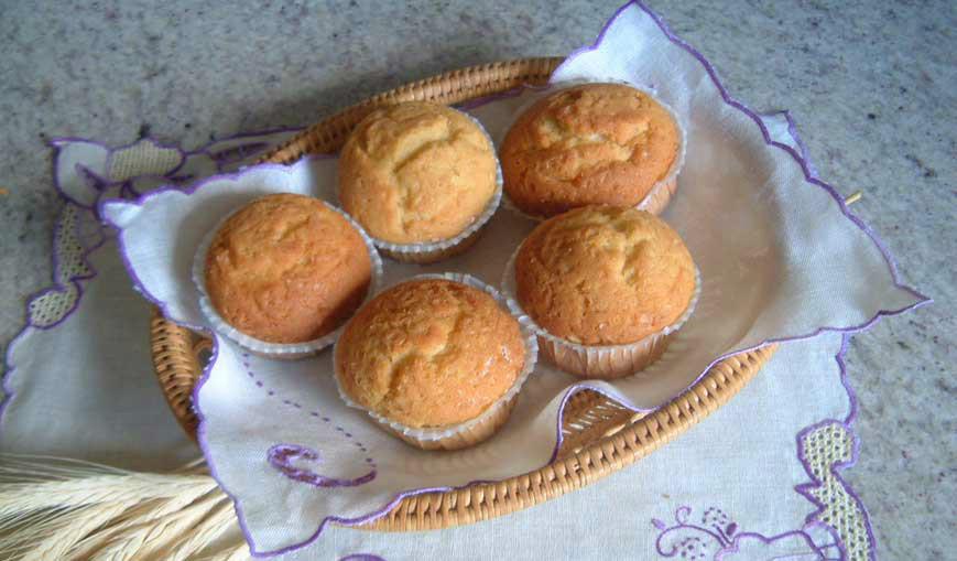 Muffins de Naranja (V)