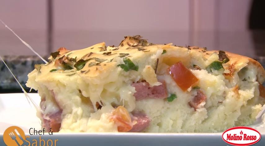 Receita de Torta Salgada