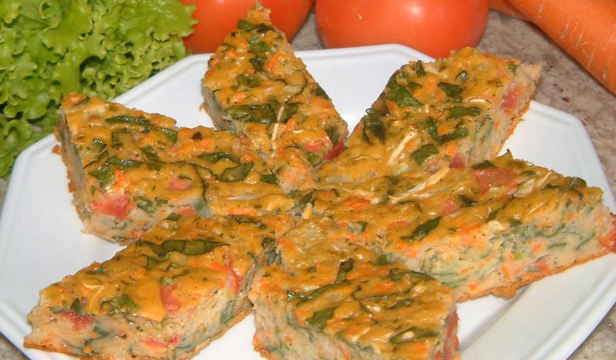 Torta de Verduras y Legumbres (V)
